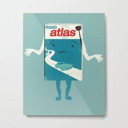 Atlas Shrugged Metal Print