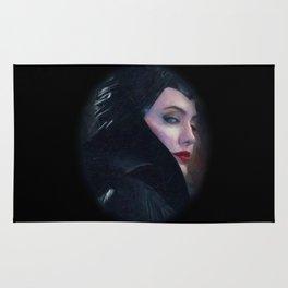 Maleficent in Oil / Sleeping Beauty Rug