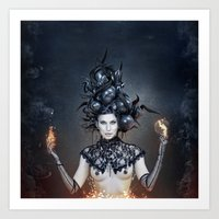 witchcraft Art Prints featuring WITCHCRAFT by Robert Palmer