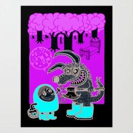 role_play Art Print