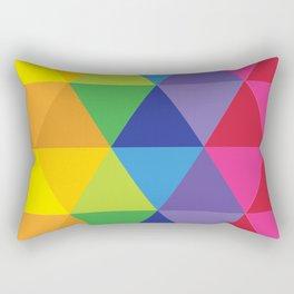 Rainbow Cosmic Universe Rectangular Pillow