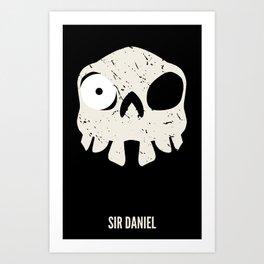 Sir Daniel Art Print
