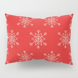 Seamless pattern with snowflakes Pillow Sham