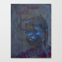 Don't Forget Haiti Canvas Print