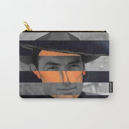 Modigliani's Portait of A Man with Hat & Gregory Peck Carry-All Pouch
