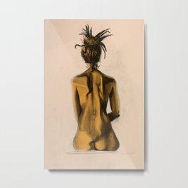 Bare Back No.4 Metal Print