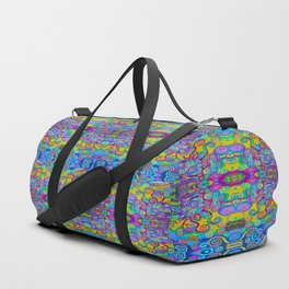 Klimt Tree of Life Mandala Duffle Bag
