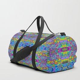 Klimt Tree of Life Mandala Duffle Bag