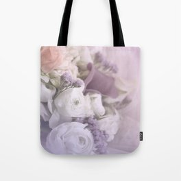Romantic Flowers Tote Bag