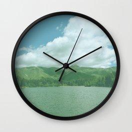 MountainLake Wall Clock