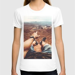 on top of canyonalnds T-shirt