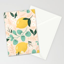Lemon Party Stationery Cards