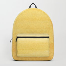 Yellow Watercolor Ombre Pattern Backpack