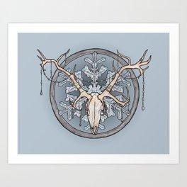 Yuletide Spirit Art Print