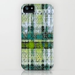 Forest Marmalade Plaid iPhone Case