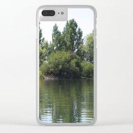 Williamson River, Oregon Clear iPhone Case