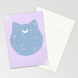 Sailor moon pastel mood Stationery Cards