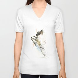 Drift Contemporary Dance Unisex V-Neck