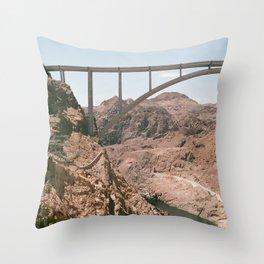 Hooverdam Throw Pillow