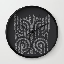 Geometro 01 Wall Clock