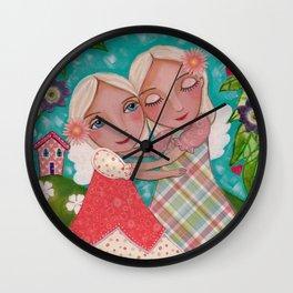 Soul Sisters Wall Clock