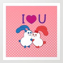 Ernest   Loves Coraline Art Print