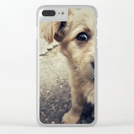homeless Clear iPhone Case