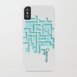 Finish it later iPhone Case
