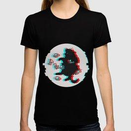 Glitch Cat T-shirt