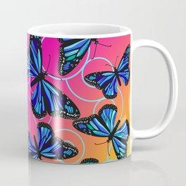 Cool Monarchs at Sunset Coffee Mug