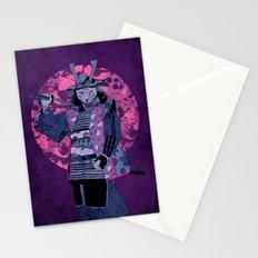 Samurai Kitty Stationery Cards