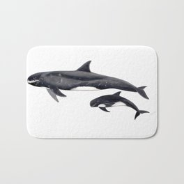 Pygmy killer whale Bath Mat