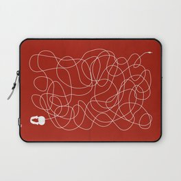 Headphone Maze Laptop Sleeve