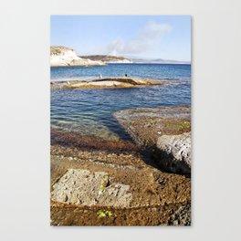 ROCKY ISLAND - Sardinia - Italy  Canvas Print