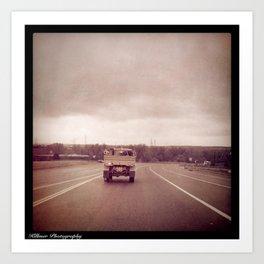 American Driving Art Print