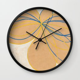 Hilma Af Klint The Seven Pointed Star Wall Clock