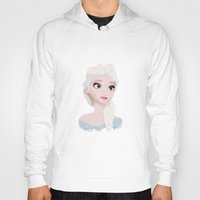 elsa Hoodies featuring Elsa  by carolam