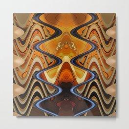 abstract 155 Metal Print
