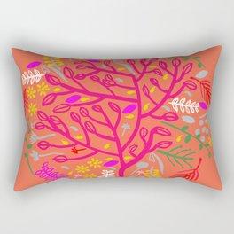 Folk Tree Rectangular Pillow