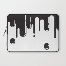 Melting black stuff Laptop Sleeve
