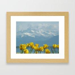Montreux, Switzerland Framed Art Print