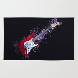 Electric Guitar Rug