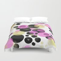 popart Duvet Covers featuring Popart No.4 by HelgaTheodors