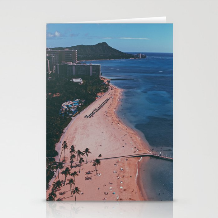 In The Sky Over Hawaii Stationery Cards