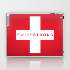 Swiss Strong Laptop & iPad Skin