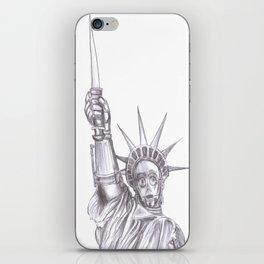 C3PO Liberty iPhone Skin