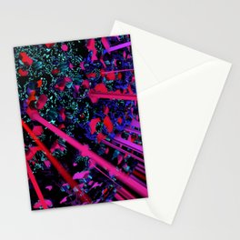 The planet is a supernova Stationery Cards