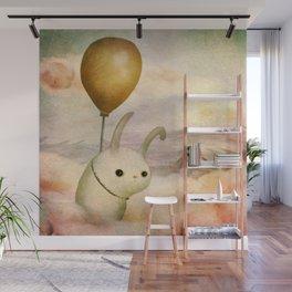 Bun Bun and the Balloon Wall Mural