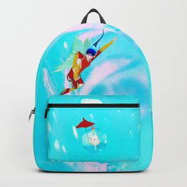 Water girl Backpack