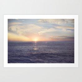 Dreamy Sunset Art Print